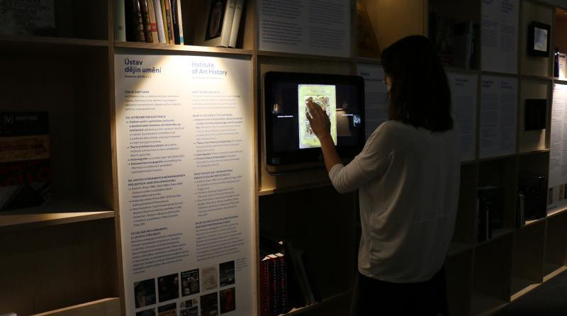 Výstava nabízí i řadu interaktivních prvků. | foto: Národní muzeum