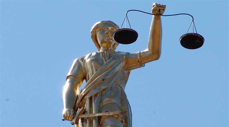 FOTO: Alegorie Spravedlnosti