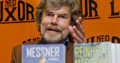 FOTO: Reinhold Messner in Prague