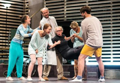 Švandovo divadlo presented a play that isn't for everyone