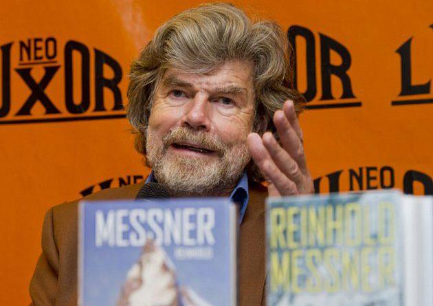 FOTO: Reinhold Messner in Prague