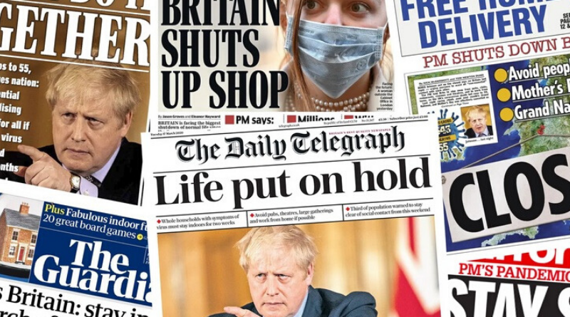 Jak se Británie nebála koronaviru, ale pak dostala strach